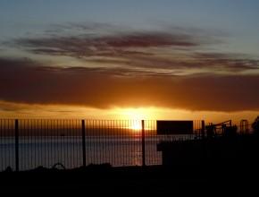 Por do sol Argentina