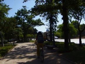 Santiago de bicicleta!