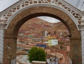 Mirador em Potosí