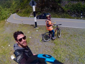 Bicicleta pelo Vale Sagrado