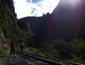 Caminho da Hidroeléctrica até Águas Calientes