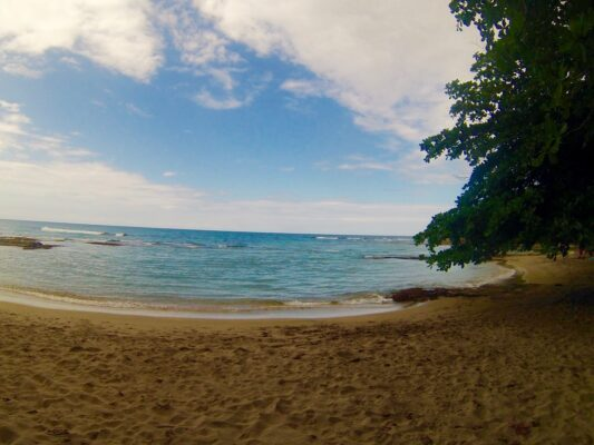 O dia não estava perfeito para as fotos, mas as praias eram doutro mundo!