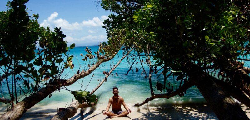 Isla Zapatillas, um paraíso no meio do mar das Caraíbas